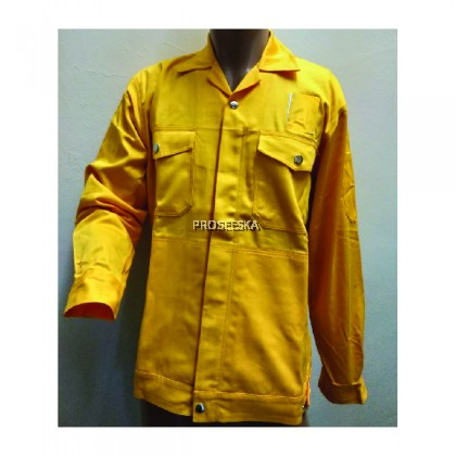 Cotton Jacket Yellow