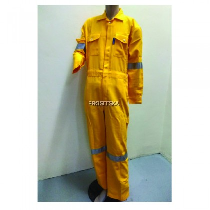 Inherently Flame Resistant Coverall